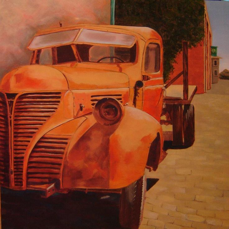Yvonne Westerveld Cardoso  'Orange Truck'