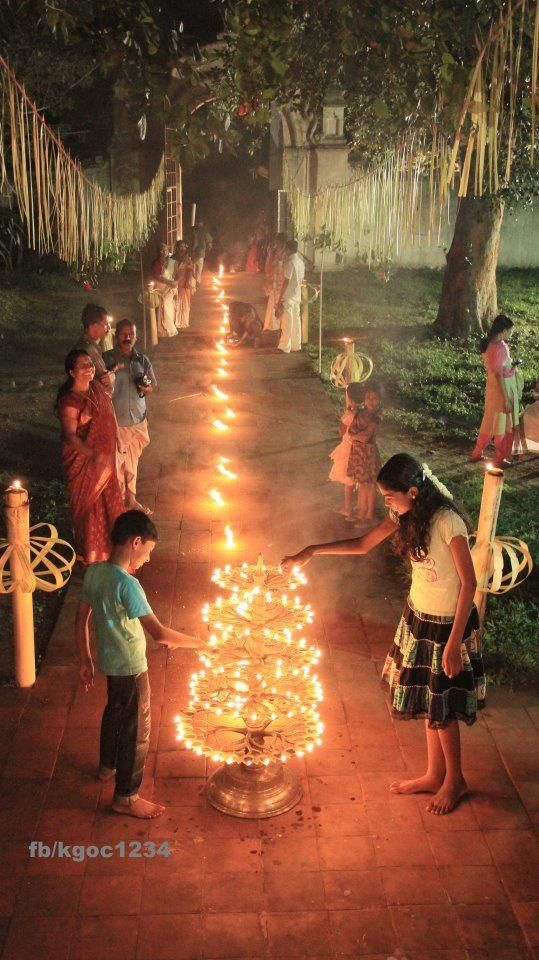 Diwali in India. Festival of lights!