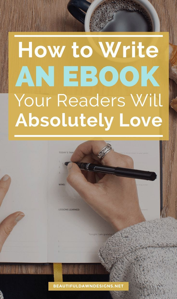 Learn tips for writing an ebook your readers will love. #writeanebook #ebook #bloggingtips via @tiffany_griffin