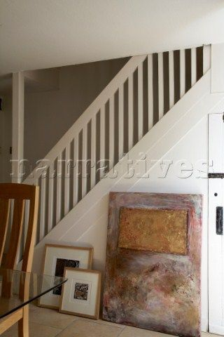 Best Banisters Painted Banister And All White On Pinterest 400 x 300