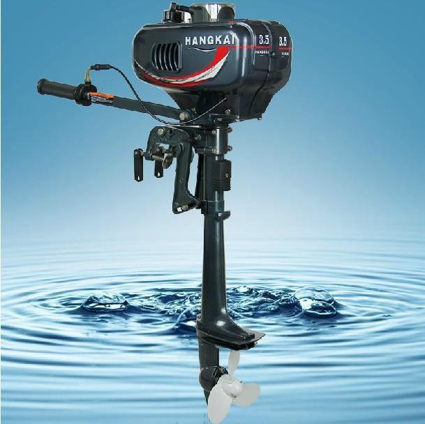 cheap boat motors Facotry Selling 2016 Cheap Hangkai 2-stroke 3.5HP boat engine outboard boat motors water cooled