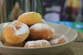 Yunique Culinaire: Bongkar Rahsia 1: Resepi Donut Ala-ala Big Apple
