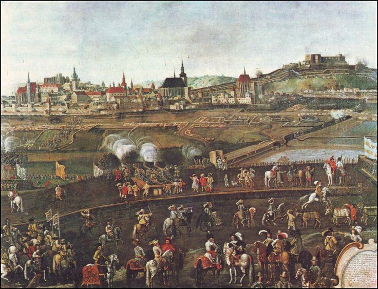 Veduta z obléhání Brna Švédy v roce 1645 - Thirty Years' War - Wikipedia, the free encyclopedia