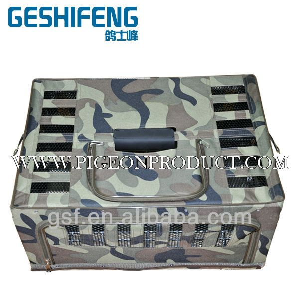 Racing pigeon cages for sale transportation bird cage oldable Canvas Transportation cage for pet