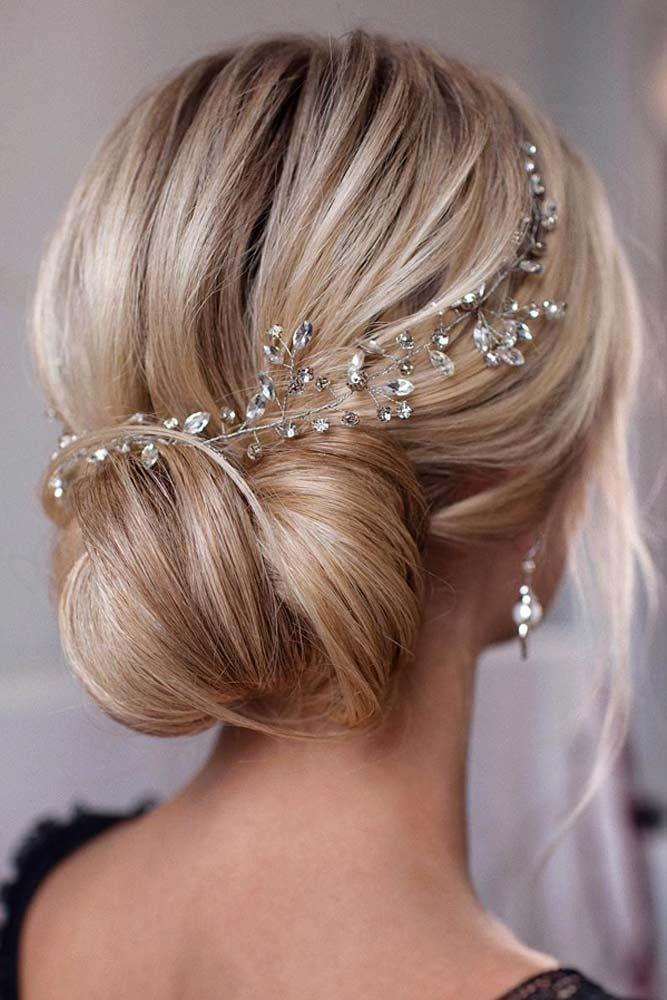36 Wedding Hairstyles For Medium Hair