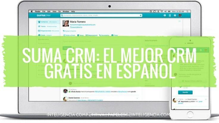 Descubre porque Suma CRM es el mejor CRM gratis en español para llevar a cabo una estrategia eficaz de escucha al cliente y mejorar tu relación con ellos