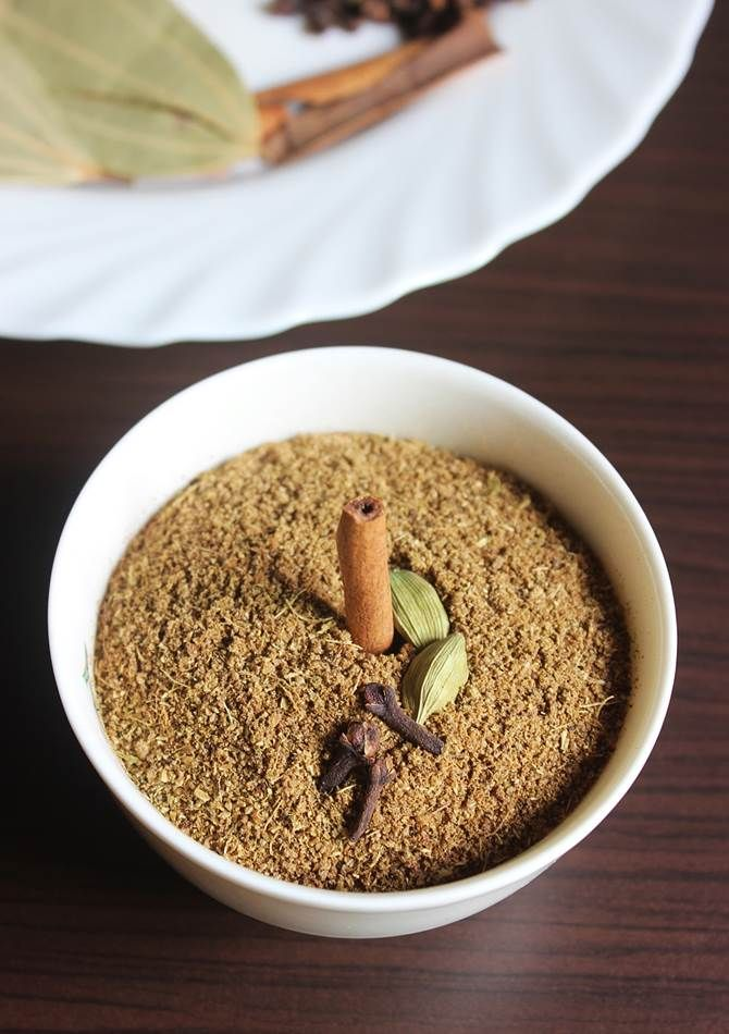 garam masala powder recipe with step by step photos, Learn how to make garam masala powder for Indian vegetarian and chicken recipes