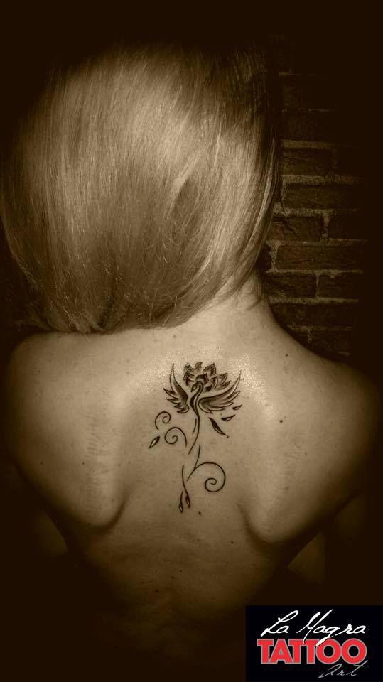#tribal #bird #tattoo #lamagratattoo