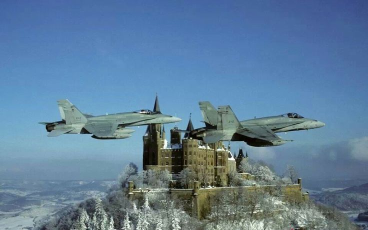 Royal Canadian Air Force McDonnell-Douglas CF-188A Hornets