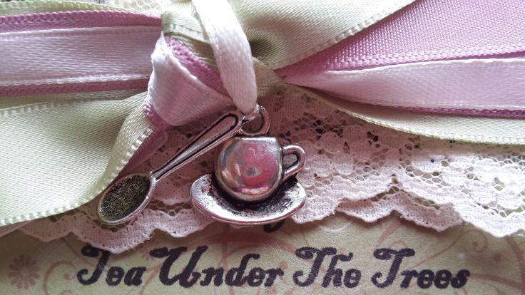 HIgh Tea Wedding Invitation - Close Up