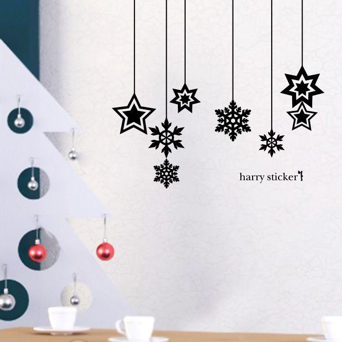 雪の結晶のクリスマス飾り(snow crystal)