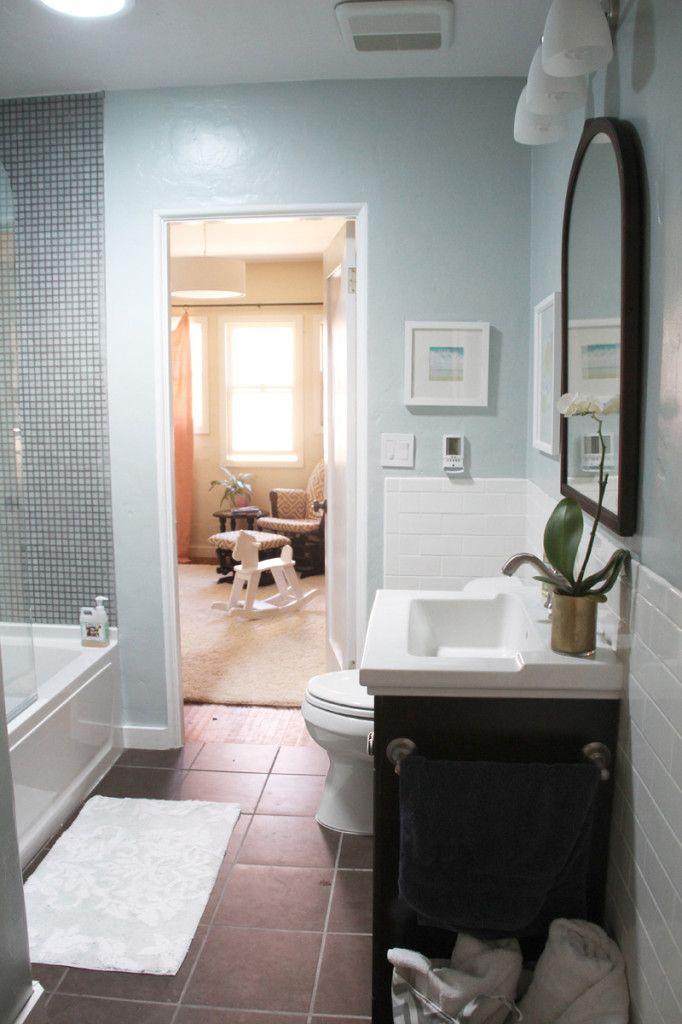 Light blue and black bathroom decorating ideas pinterest - Light blue bathroom ideas ...