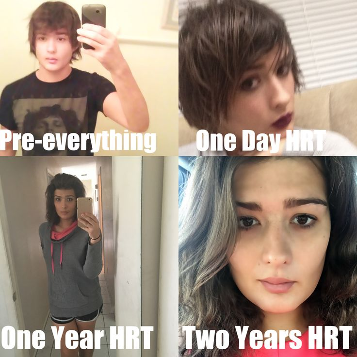 A lot can change in Two years of HRT!