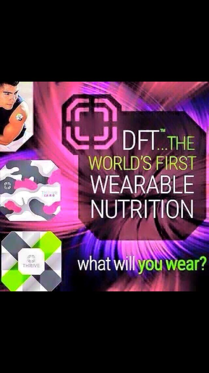 Have you heard of the worlds first wearable nutrition?