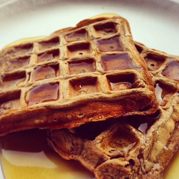 Perfect Fit Protein Waffles!!! Yum! Shared by livingwithveggies. 1/2 banana, mashed; 3 egg whites; 1/2 Tbsp almond milk; 1 packet vanilla Perfect Fit Protein; 1 tsp cinnamon.