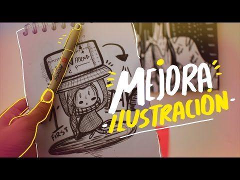 ¿Cómo mejorar en ilustración? - Andreaga - YouTube