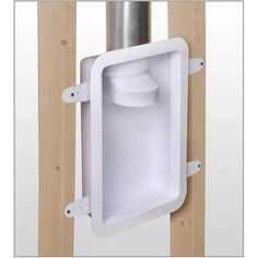 Recessed Dryer Vent Box