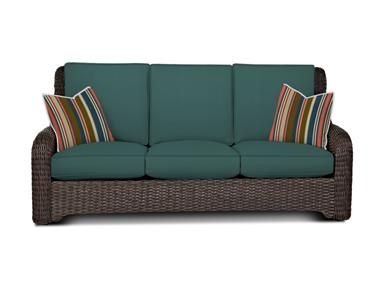 Shop+for+Klaussner+Outdoor+Laurel+Sofa,+W1000+S,+and+other+Outdoor/Patio+Sofas+at+Klaussner+Outdoor+in+Asheboro,+NC.+The+Laurel+collection+features+high-back+comfort+and+transitional+styling+with+a+classic+rounded+arm+cap+that+flows+into+the+swirl+back+medallion.