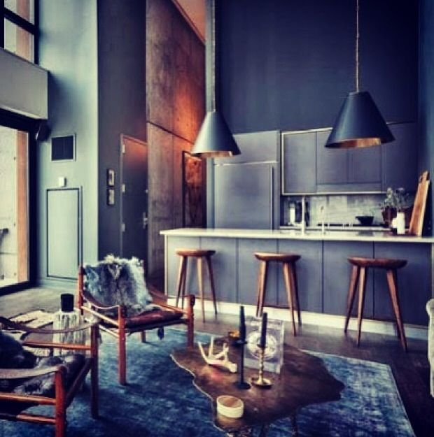 can't stop obsessing about kitchen/lounge space