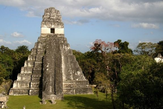 The Maya civilization stretched throughout Central America and reached its peak during the first millennium A.D.