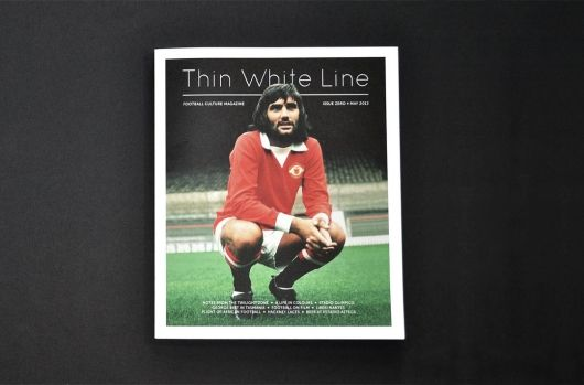 Thin White Line magazine by Ian Kerr