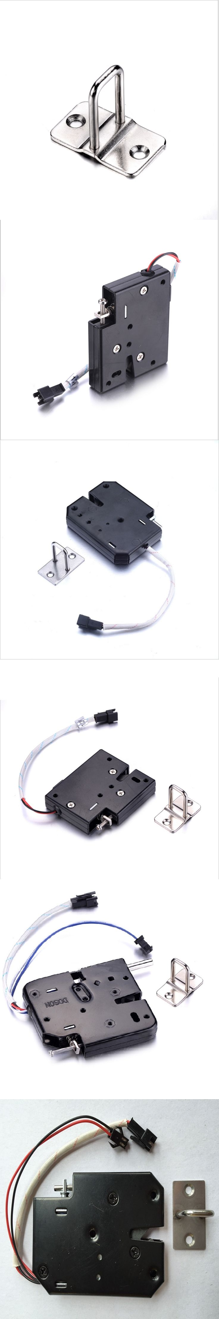 1PCS DC12V Mini Electromagnetic Lock Energy-Saving Long-Life Electronic Locks For Cabient Door Furniture Access Control System