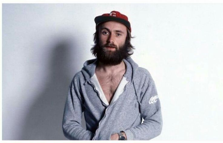 1976 Phil Collins looks like a 2016 hipster.