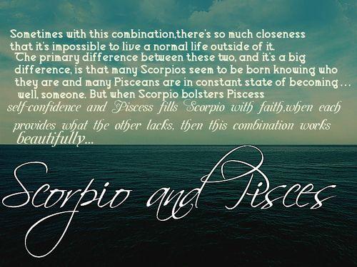 scorpio and pisces | Tumblr