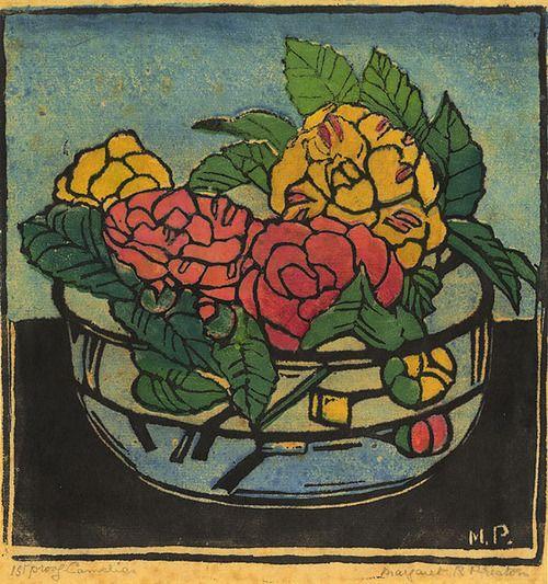 Margaret Preston 'Camelias' 1925
