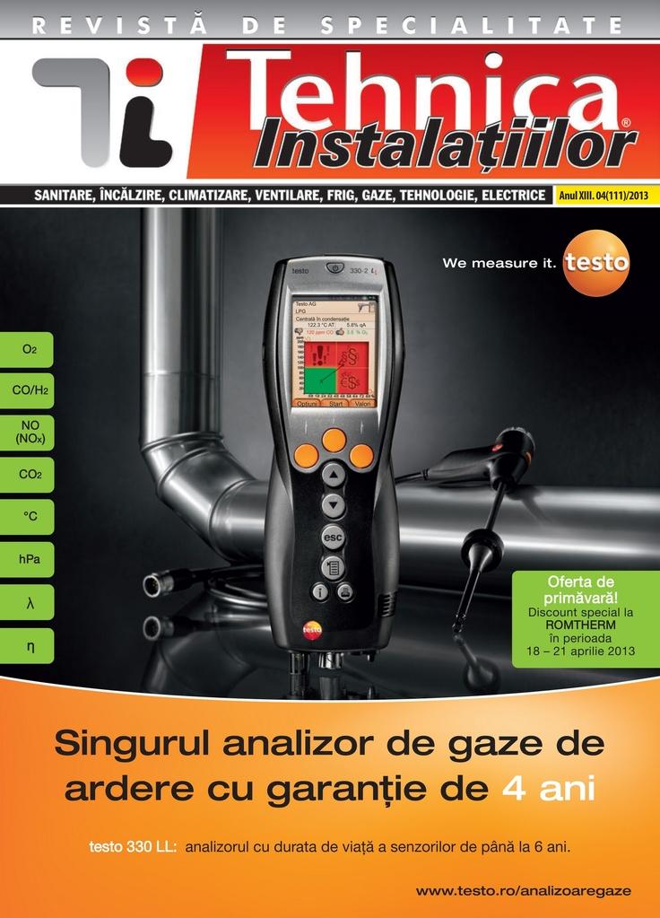 Revista Tehnica Instalatiilor nr. 04_111_2013