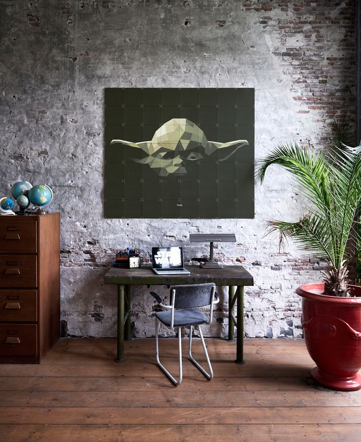Small in size but wise and powerful. This peaceful graphic illustration of Yoda can be part of your interior as of today! www.ixxidesign.com/starwars #IXXI #StarWars #starwarsbyixxi #TheForceAwakens #home #interior #yoda