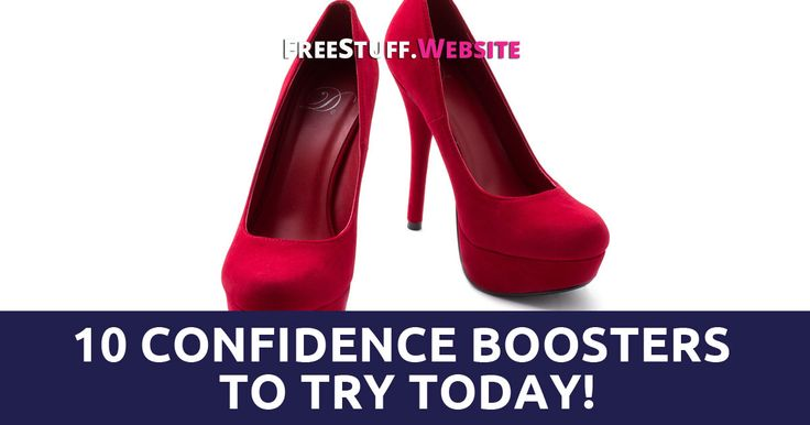 Having self confidence gives you a sense of pride and happiness, so when you need a little boost in confidence, here are 10 confidence boosters to try out!