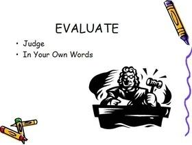 Evaluate an Author's Argument (Common Core Standard 9-10