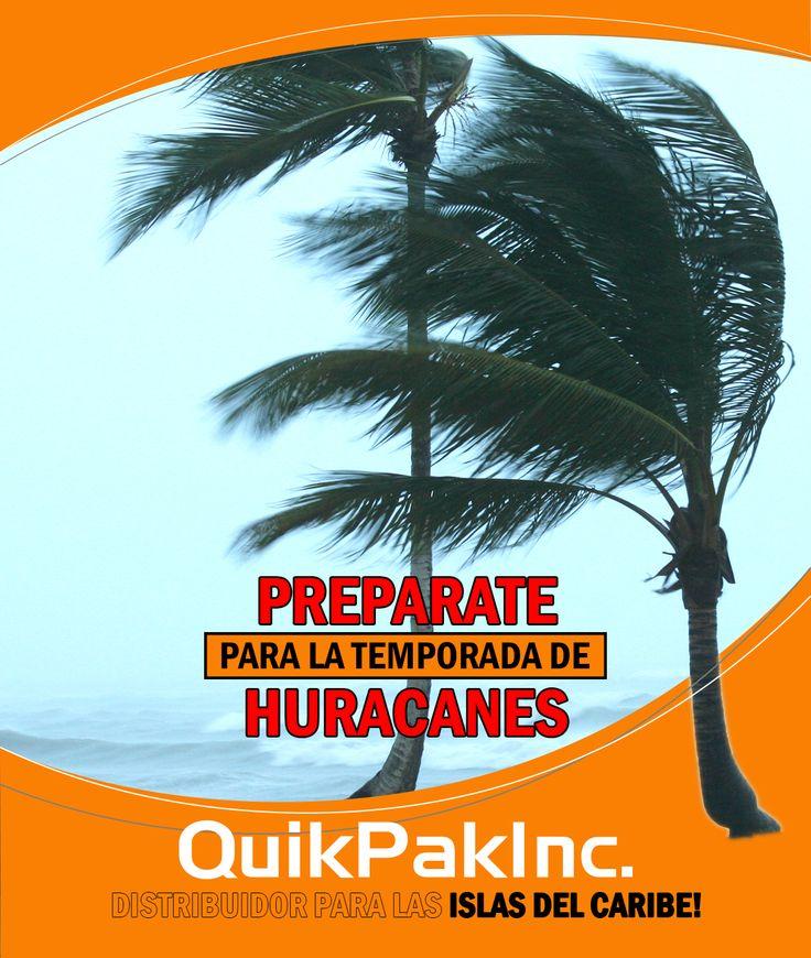 En caso de emergencia, cuenta con QuikPak para proveerle al Caribe suministros sin necesidad de refrigerar!
