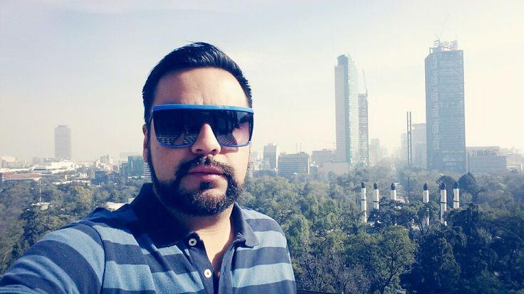 Un avista de la ciudad de México