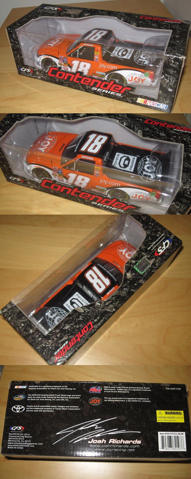 Sport and Touring Cars 180272: Josh Richards 2011 1 24 Toyota Tundra Joy Mining Truck Nascar Diecast Cfs Htf -> BUY IT NOW ONLY: $49.95 on eBay!