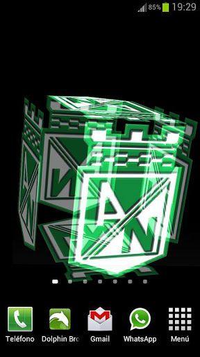 Resultado de imagen para atletico nacional escudo 3d