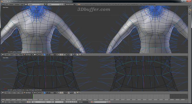 На рисунке показано отображение нормалей для неразрезанной модели (слева) и разрезанной модели (справа). 3D models Unity3D, Blender, Unity 3D, 3D characters, Fuse, Mixamo, Autodesk, Character generator, Makehuman, Blender, uv map, uv mapping, normal map, bake normal map, baking 3d, 3D textures, character texture. Normals