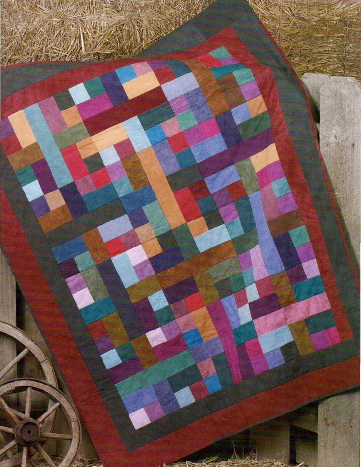 Almost Amish Scrap Quilt Patterns Amish Quilts Amish