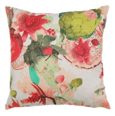 Mairo Anemone cushion cover. Designed by Tess Jacobson.