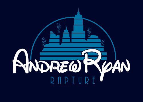 Andrew Ryan - Rapture by adho1982Ryan Rapture, Rapture Disney, Videos Games, Tshirt Design, Disney Logo, Bioshock Disney, Andrew Ryan, Disney Bioshock, T Shirts
