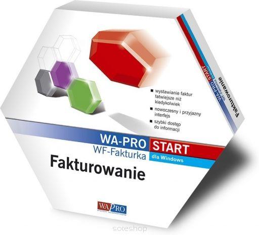 Program WF-Fakturka został zaprojektowany dla małych firm wystawiających maksymalnie kilkaset faktur (paragonów) miesięcznie.