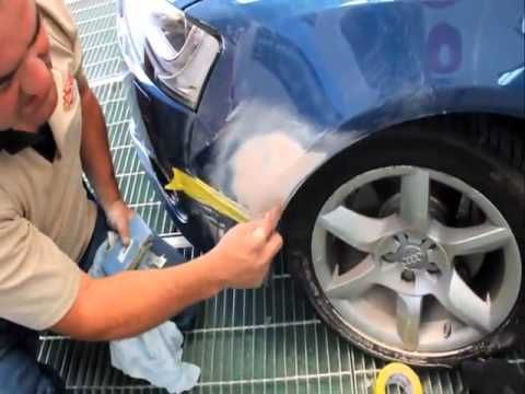 How to use Spray Cans to touch up car paint scratches like a pro! - YouTube