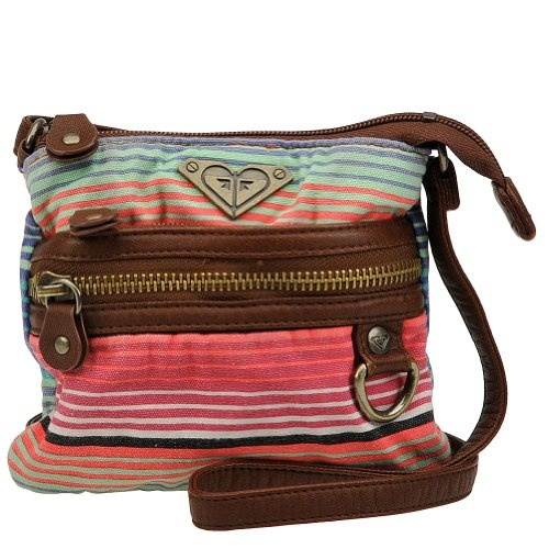 Roxy Girls' Sun And Fun Crossbody Bag Brown