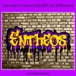 Create a cool graffiti text effect in Photoshop