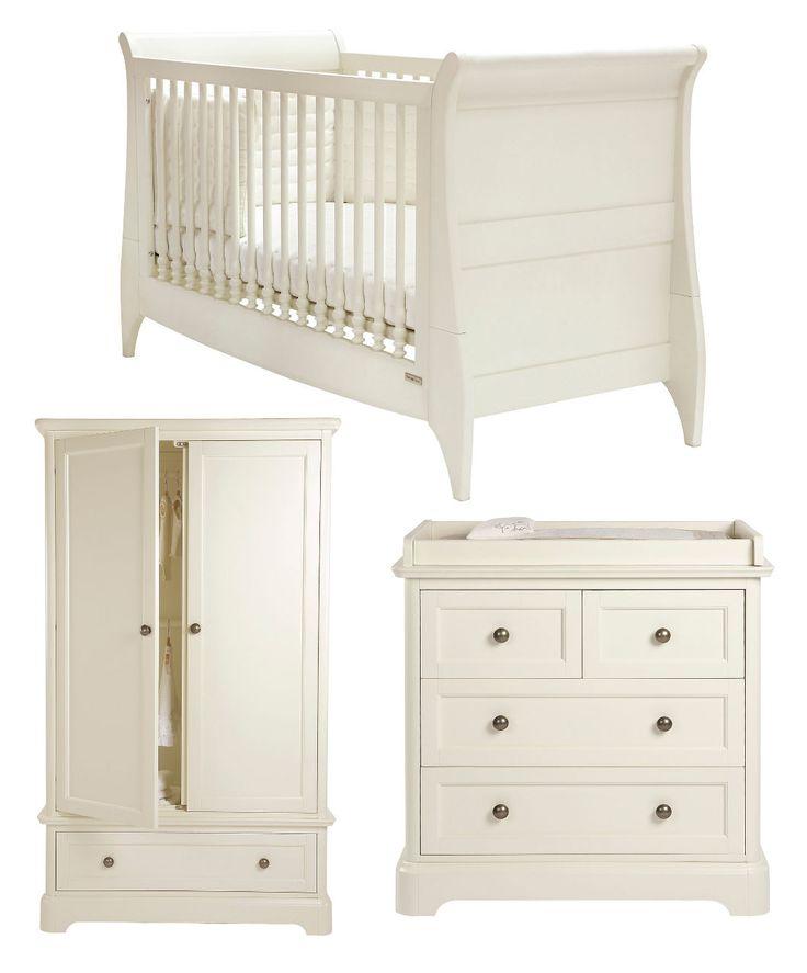 White Nursery Furniture Sets Part - 48: Orchard 3 Piece Set - Orchard - Mamas U0026 Papas