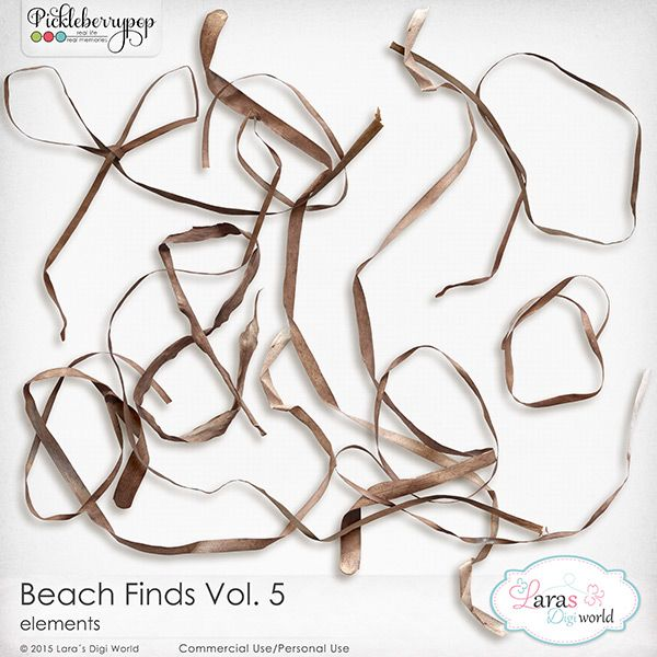 Beach Finds Vol. 5 by Lara's Digi World