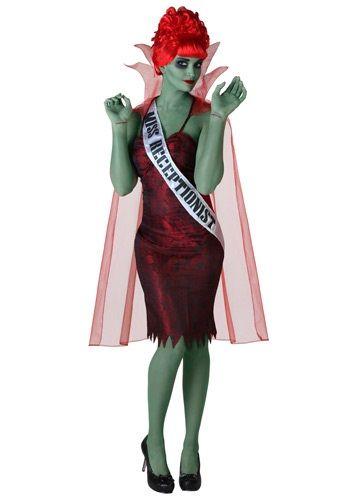 Miss Dead Receptionist Costume - Beetlejuice's Miss Argentina #halloween