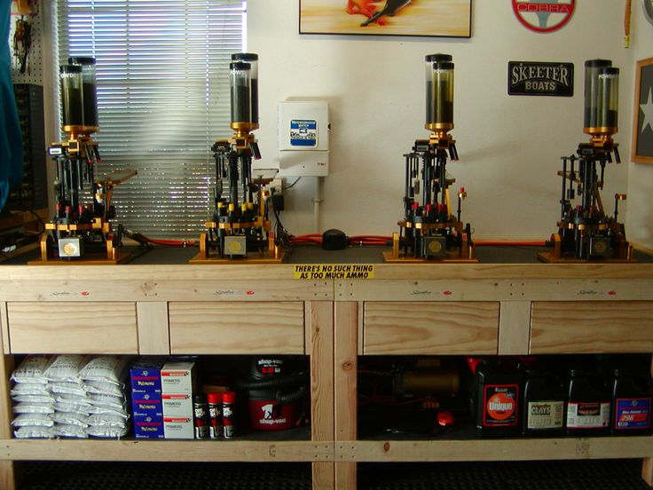 A Really Nice Shotgun Reloading Bench Reloading Rooms