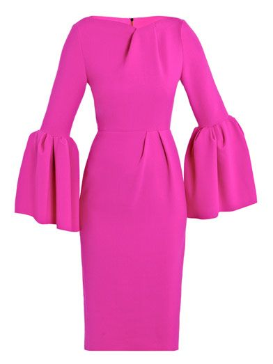 True Winter pink (12-Tone | Sci\ART method) | Best fuchia pink dress known to woman!!